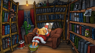 AUTHORS!  BECOME SANTA!