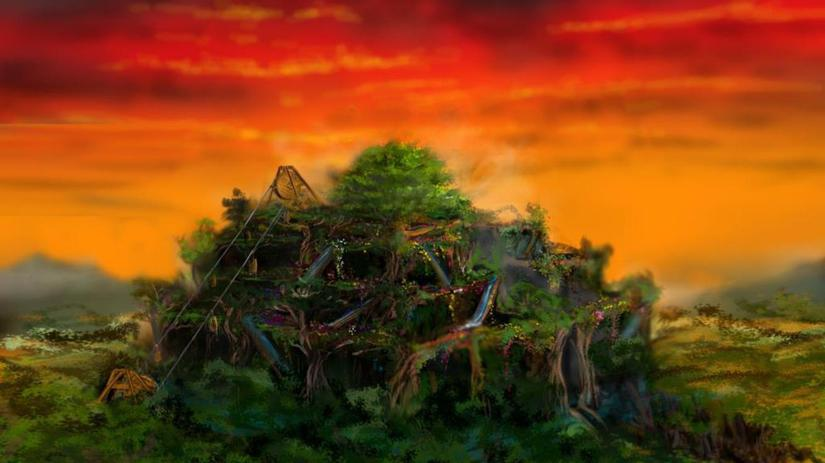 FirstWorldSaga - The One Tree and Hanging Gardens at Eden