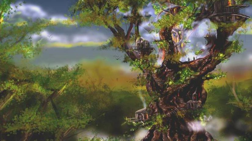 The Queen's Tree at Elvenhome