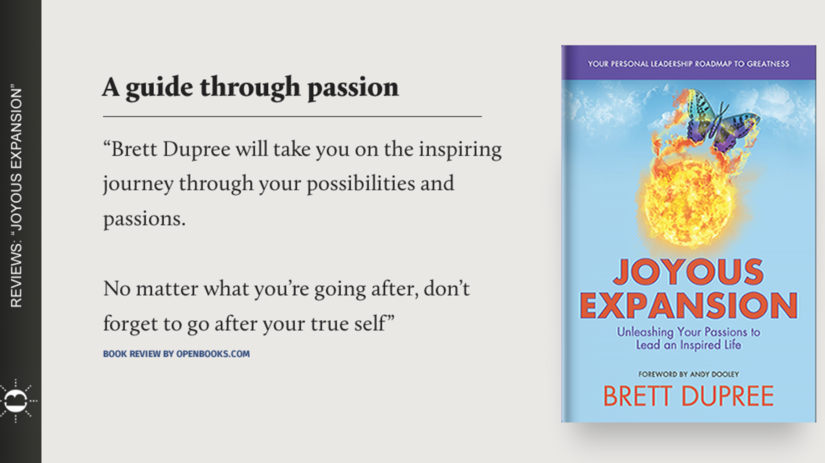 """A Guide Through Passion - """"Joyous Expansion"""" by Brett Dupree"""