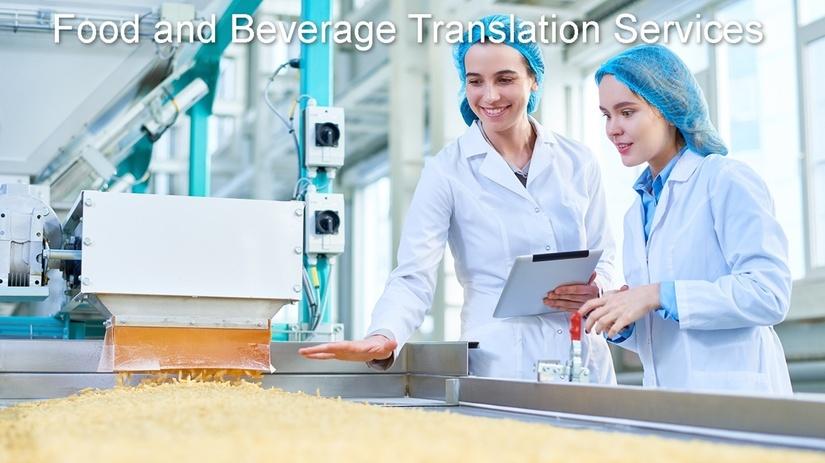 Foodand Beverage Translation Services