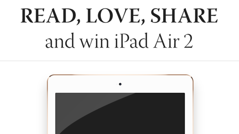 ALERT! Last days to win iPad Air2, Kindle Paperwhite & Etsy Giftcards!